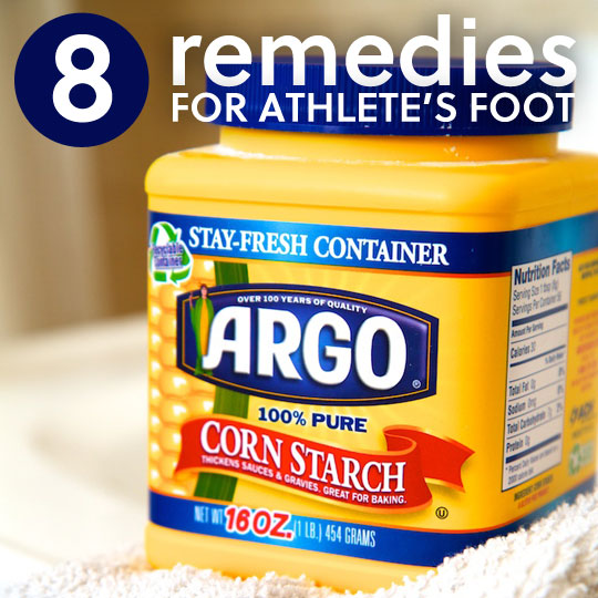 8 Remedies for Athlete's Foot- to get rid of the stink & itch.