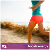 boosts energy