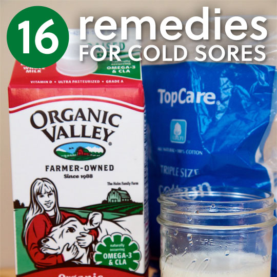 16 Cold Sore Remedies- and ways to prevent future breakouts.
