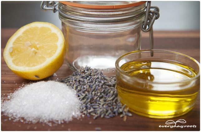 body scrub ingredients