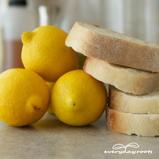How to Use Bread & Lemon to Remove Calluses and Corns