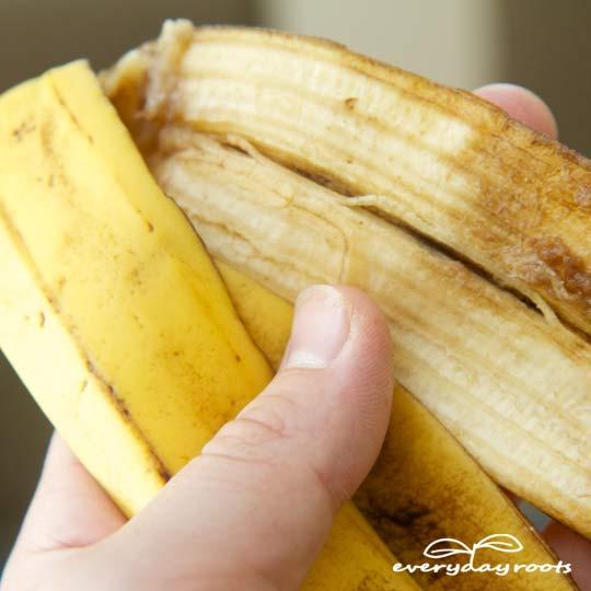banana peel wart removal
