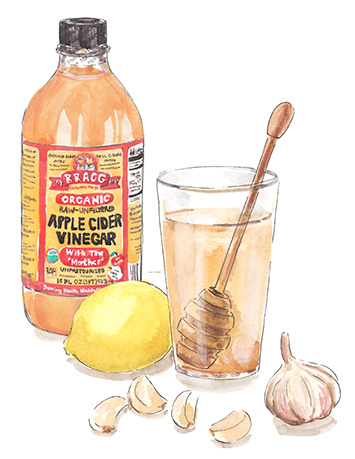 apple cider vinegar drink