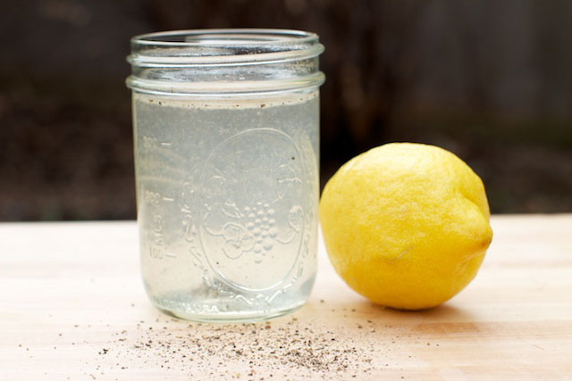 Lemon and Black Pepper Drink