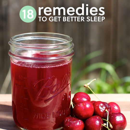 18 Natural Sleep Aids To Get Better Remedies