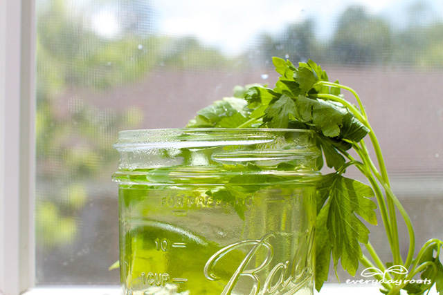 Parsley Water Remedy