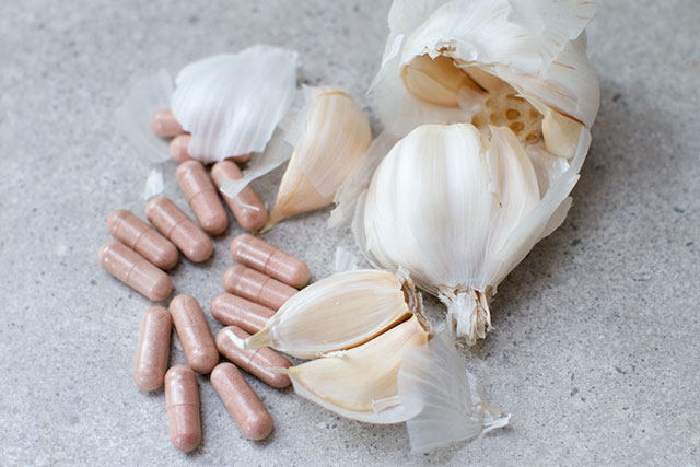 garlic for high blood pressure