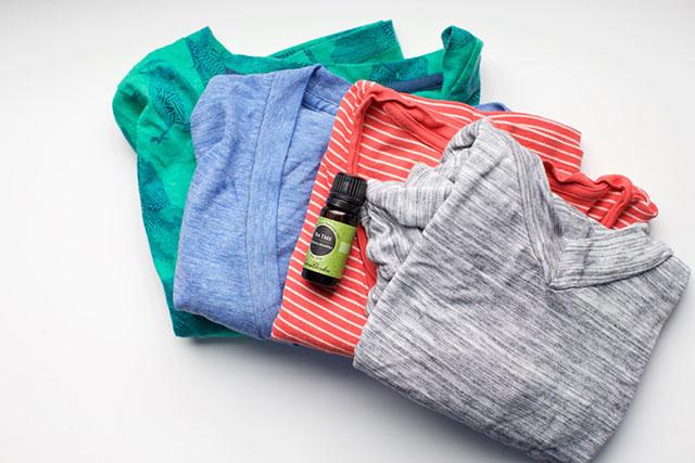 tea tree oil for clothing