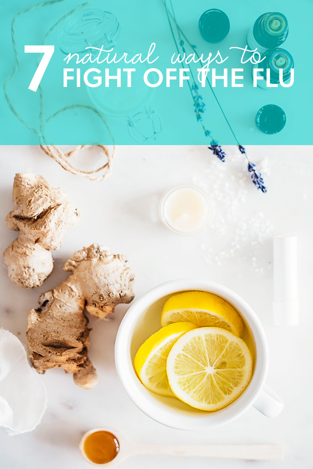 Next time you get the flu, try one of these natural remedies to eliminate aches,  settle your stomach and boost your immune system to get better, faster.