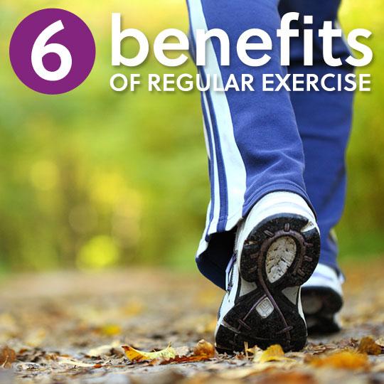 6 Amazing Benefits of Regular Exercise & Physical Activity