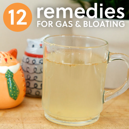 12 Ways to Get Rid of Gas & Bloating | Everyday Roots