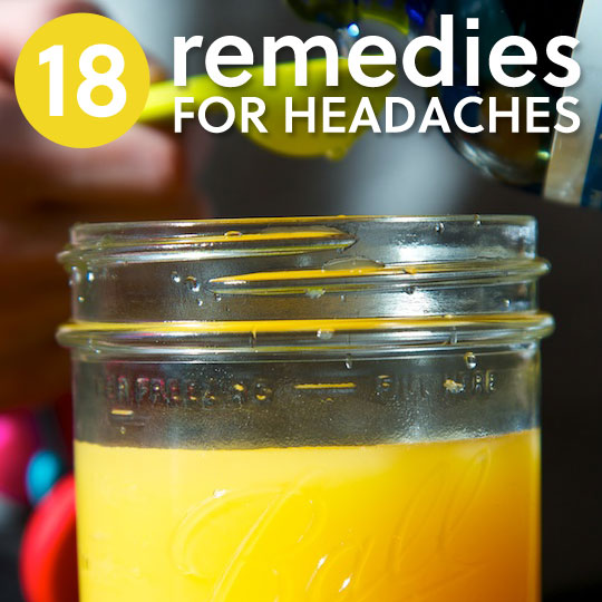 18 Helpful Remedies to Relieve Headache Pain & Tension