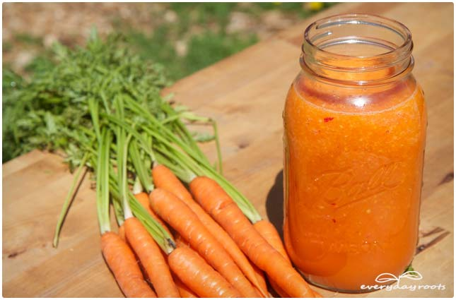 carrot immunity smoothie