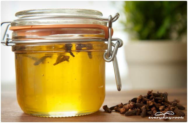clove infused honey