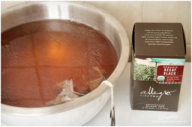 black tea foot odor remedy