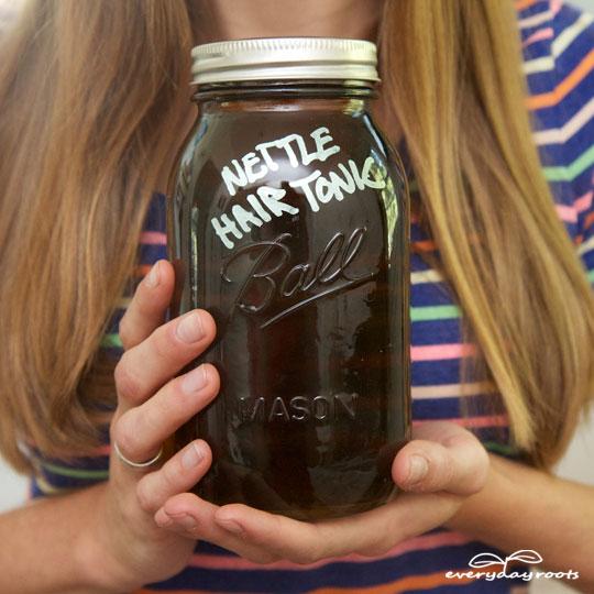 3 Homemade Hair Tonics- for strong, healthy & shiny hair.