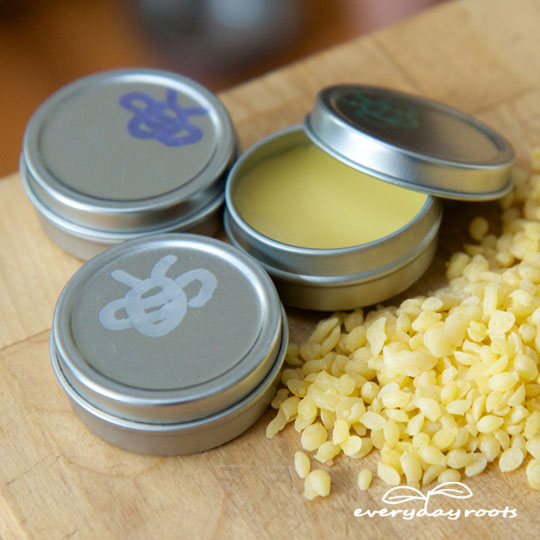 How to Make Healing Homemade Lip Balm- love this!