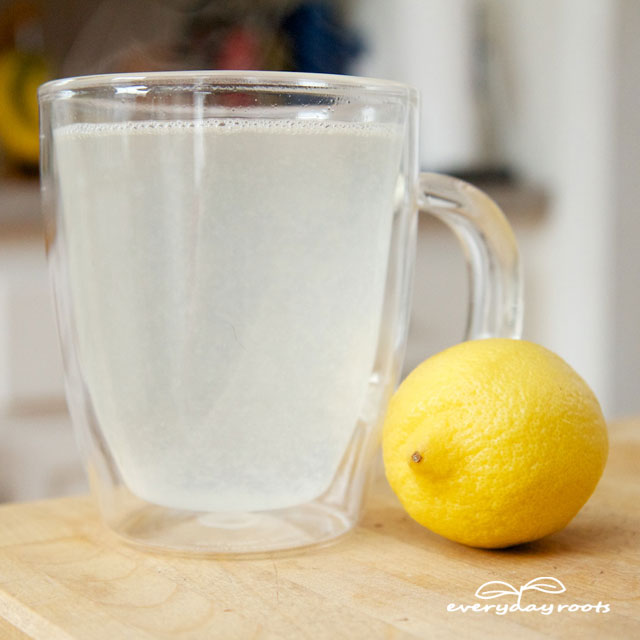 lemon water remedy for stomach aches