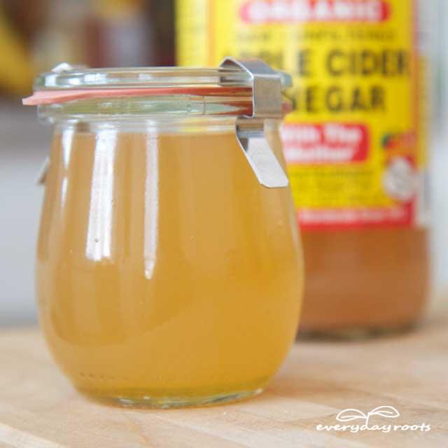 apple cider vinegar and honey for dry hair