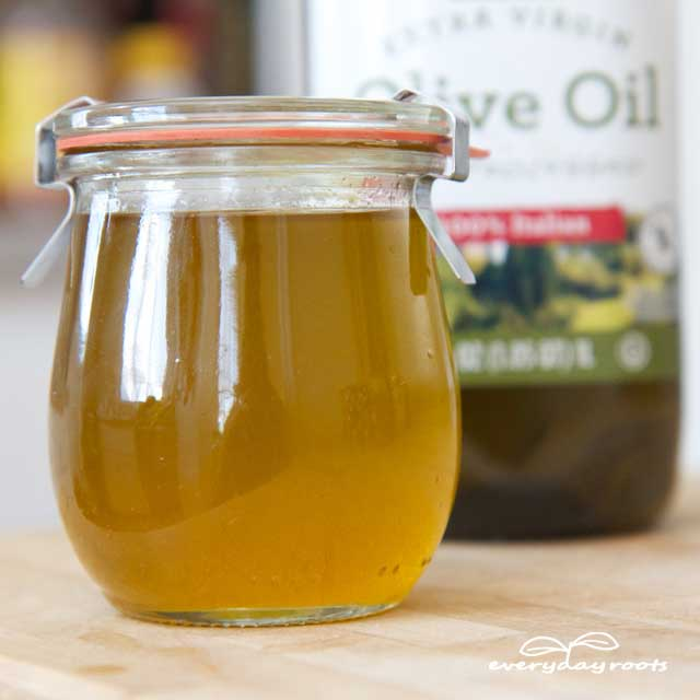 olive oil and honey hair treatment
