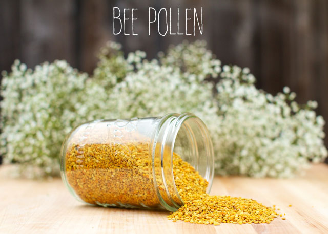 bee pollen for allergies