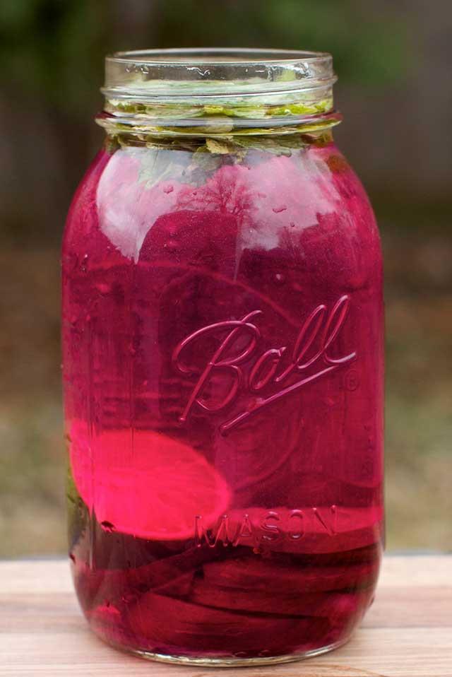 beet water