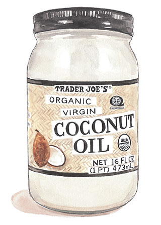 trader joe's coconut oil