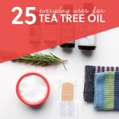 uses for tea tree oil