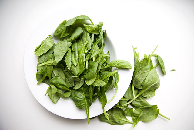 spinach for exaustion