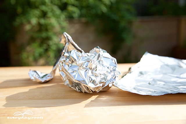 aluminum foil mouse deterrent