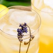 Homemade Lavender Lemonade